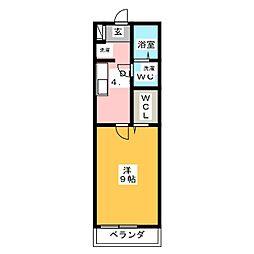 ARCADIAIII[1階]の間取り