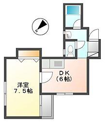 シェラハウス[3階]の間取り