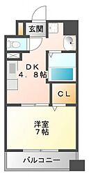 第18関根マンション[2階]の間取り