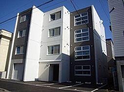 北海道札幌市北区北36条西3丁目の賃貸マンションの外観