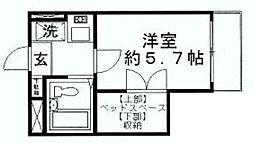 クラブコート志木[1階]の間取り