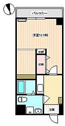 山口県下関市熊野町3丁目の賃貸マンションの間取り
