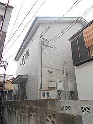 東京都江戸川区上一色3丁目の賃貸アパートの外観