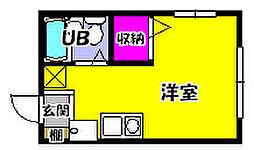 豊田荘[1階]の間取り