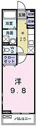 ハニ−ズガ−デンA[0202号室]の間取り