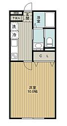 SAKASU AZABU[305号室]の間取り