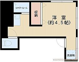 アパートメント山田[201号室]の間取り