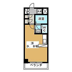 サンシティ御所西[2階]の間取り