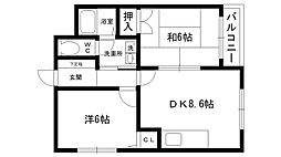 ソレーユ神垣[3階]の間取り