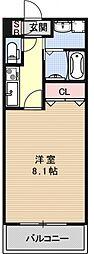 サクシード伏見京町[404号室号室]の間取り