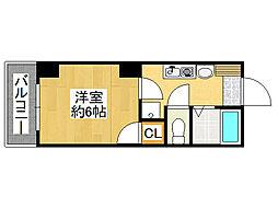 NaniwaI番館[7階]の間取り