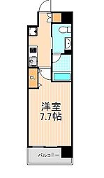 プレール・ドゥーク蔵前II[12階]の間取り