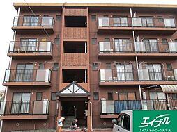 滋賀県大津市湖城が丘の賃貸マンションの外観