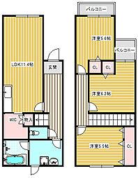 DIA住之江I[1号室]の間取り