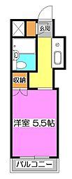 TOP狭山[5階]の間取り