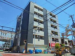 ビロウズコマガワパート1[2階]の外観