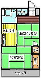 細井ハイム1[1階]の間取り