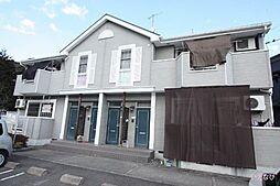 広島県福山市田尻町の賃貸アパートの外観