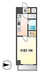 パルティール覚王山[7階]の間取り
