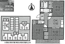 フォーゲル・プラッツ・ホンダ[B101号室]の間取り