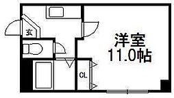 クゥーネル・S[1階]の間取り