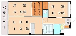 仮)レジェンドソーラー日蒔野[2階]の間取り