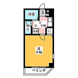 コスモスガーデンII[3階]の間取り