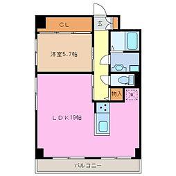 コーポタルトク[2階]の間取り
