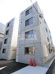北海道札幌市東区北十九条東7丁目の賃貸マンションの外観