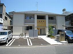 広島県広島市南区東雲本町2丁目の賃貸アパートの外観