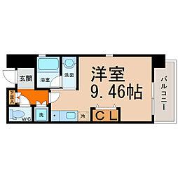 MINA葵[3階]の間取り