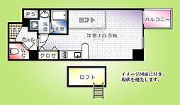 KATAYAMA BLDG21[603号室]の間取り