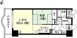 和室6畳 LDK約13.5畳