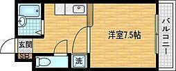 インペリアル清水[4階]の間取り