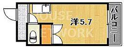 Lofty46[204号室号室]の間取り