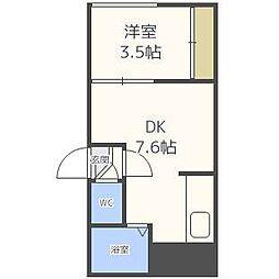 アイアール麻生VI[1階]の間取り