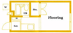 ビューライン93 B棟[2階]の間取り