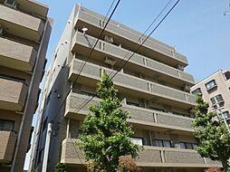 東京都世田谷区千歳台4の賃貸マンションの外観