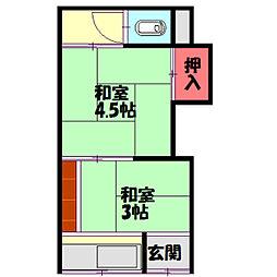 大日駅 1.5万円