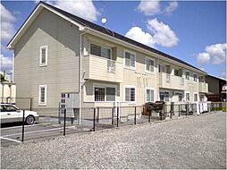 兵庫県篠山市中野の賃貸アパートの外観