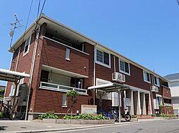 大阪府八尾市南本町2丁目の賃貸アパートの外観