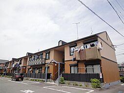滋賀県栗東市辻の賃貸アパートの外観
