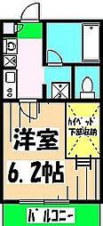 リブリ・チヒロ 壱番館[107号室]の間取り