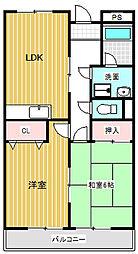 リンピア泉(川中島町今井)[101号室号室]の間取り