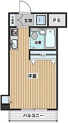 伊勢原五番館[6階]の間取り