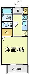阿倍野ハイツ[2階]の間取り