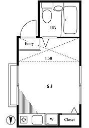 ベル大泉[1階]の間取り