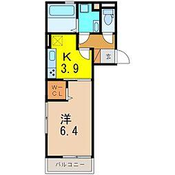 仮)D−room知立池端1丁目[1031号室]の間取り