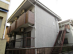 大阪府枚方市牧野阪2丁目の賃貸アパートの外観