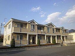 群馬県高崎市高浜町の賃貸アパートの外観